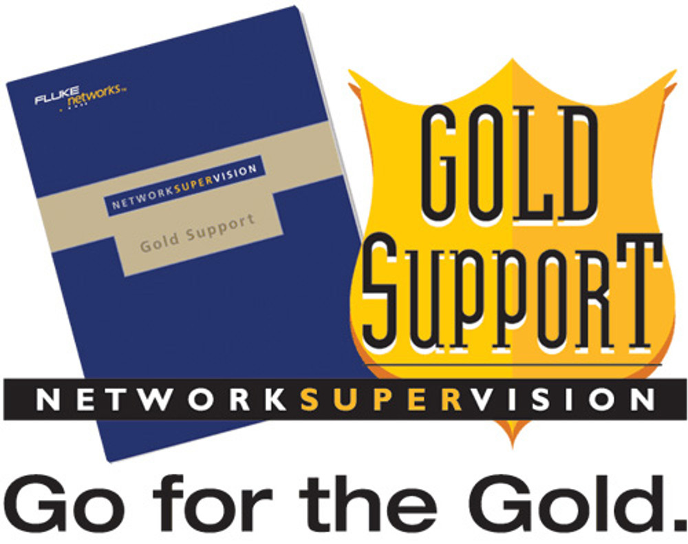 Fluke Networks GLD-1T1000 1-Yr Gold Support, OneTouch AT 1T-1000