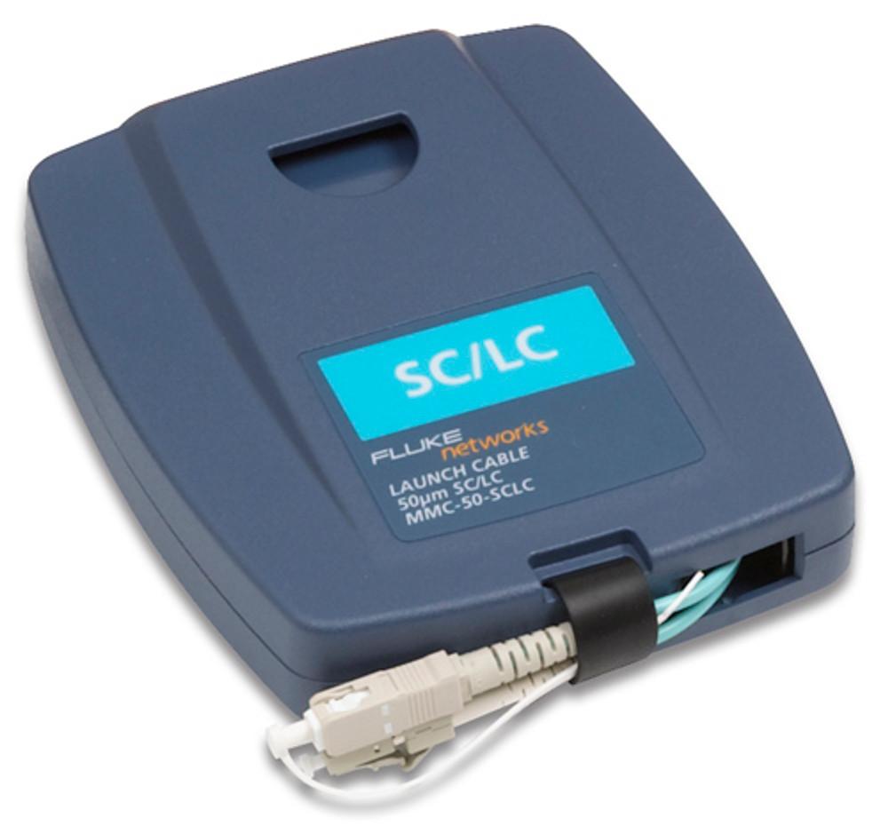 Fluke Networks MMC-50-SCLC Multimode SC/LC Launch Cable, 50um