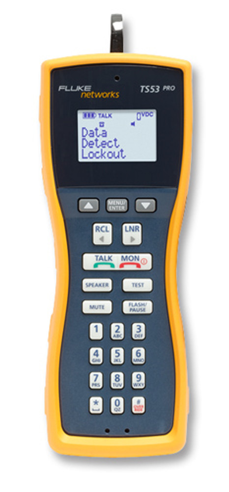 Fluke Networks TS53-BANA Test Set w/Banana & XL Alligator Clips