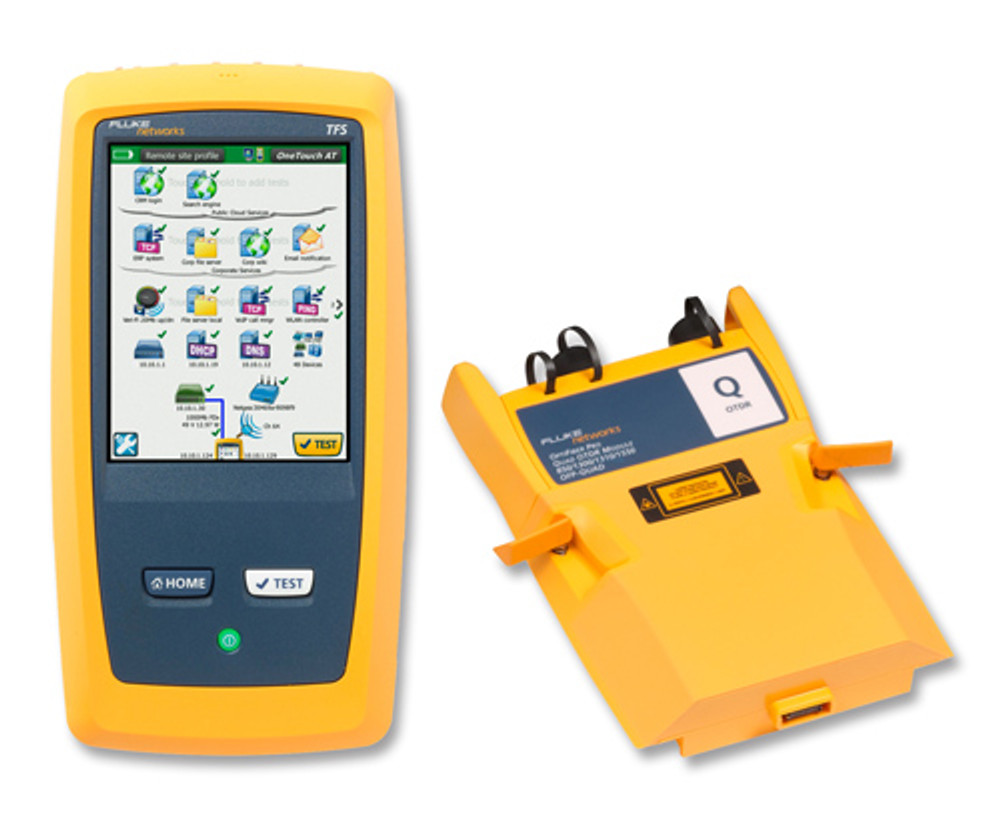 Fluke Networks 1T-3000-OFP-QUAD One Touch AT Network Tester