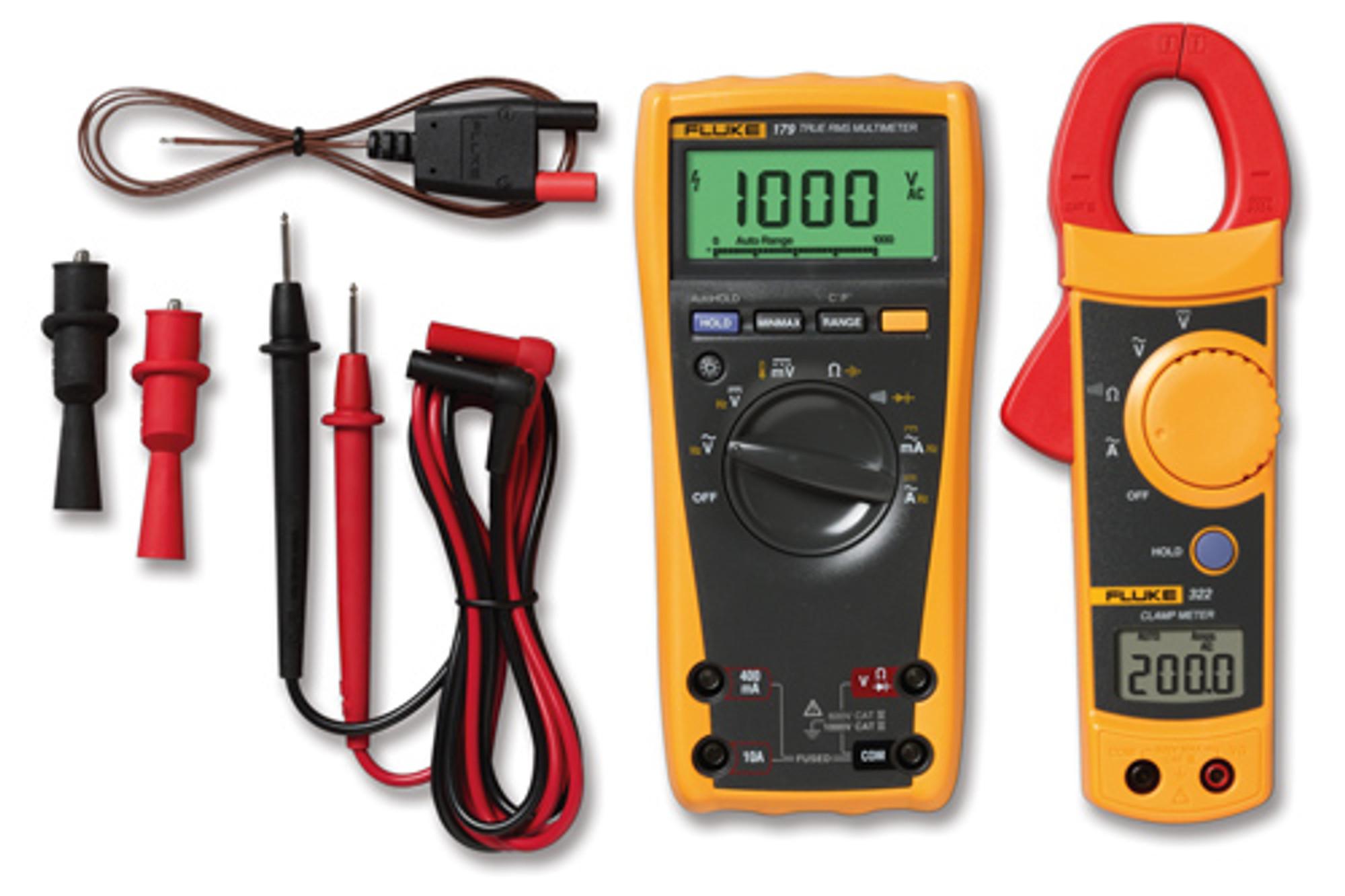Fluke 179 digital multimeter: Measuring Resistance ... |Fluke Multimeter 179