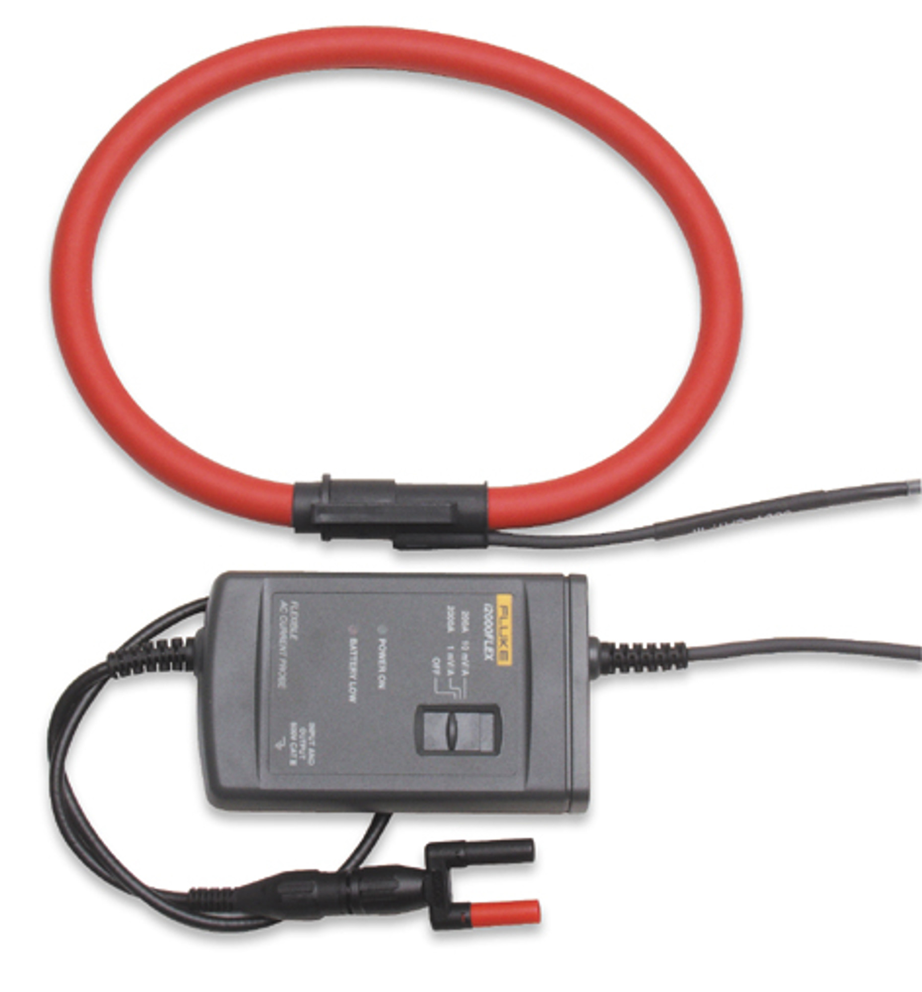 Flexible Current Clamp : Fluke i flex ac current clamp a precision fiber