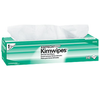 "Kimwipes 14.7"" x 16.6"" wipes / box, 15 box / case"