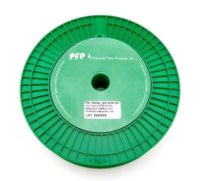PFP 62.5 um MM Radiation Resistant Fiber w/ High Temp Acrylate