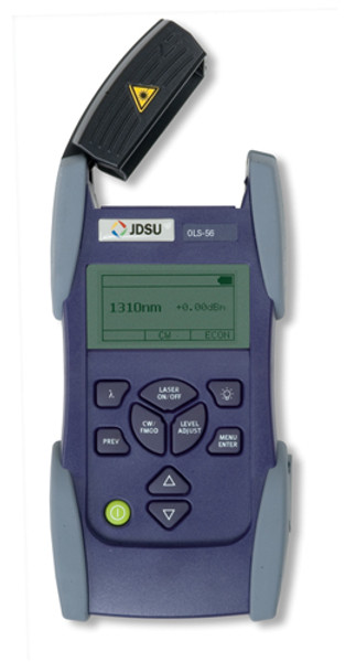 JDSU OLS-56 Fiber Optic SmartClass Laser Light Source, SC