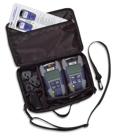 JDSU OMK-38 Svc Provider Hi-Power Plus SM SmartPocket Test Kit