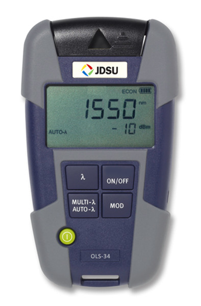 OLS-35 JDSU 2303/15 Single Mode Fiber Laser Light Source-LC