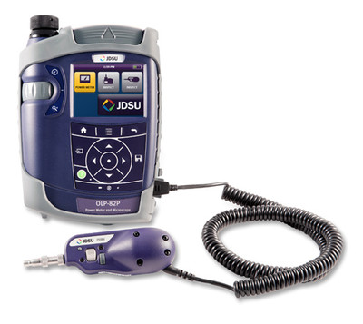 FIT-82P01-PRO JDSU SmartClass Fiber Power Meter & Microscope Kit