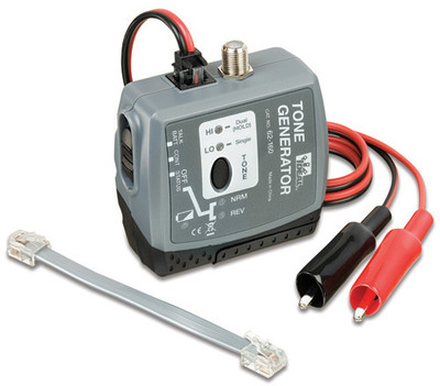 Ideal 62-160 Tone Generator for Coax, Wire or RJ Jack