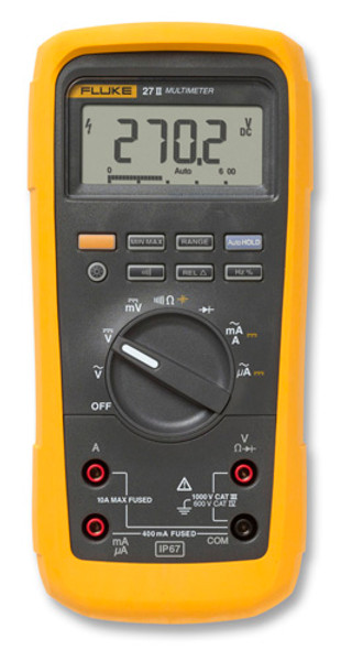 Fluke 27 II Waterproof Digital Multimeter