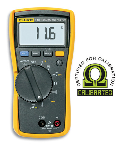 Fluke 116 True RMS Digital Multimeter - Calibrated