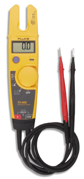 Fluke T5-600 USA Volt, Continuity and Current Electrical Tester