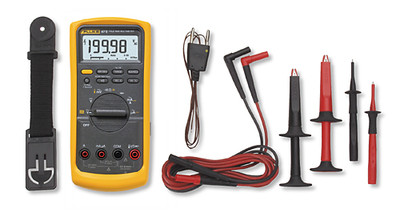 Fluke 87V/E2 True RMS Digital Multimeter & Industrial Combo Kit