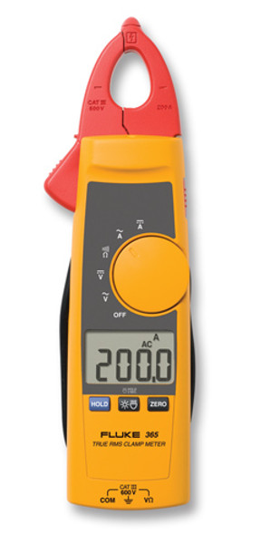 Fluke 365 True RMS AC/DC Detachable Clamp Meter, 200 Amp