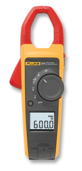 Fluke 373 True RMS AC Clamp Meter, 600 Amp