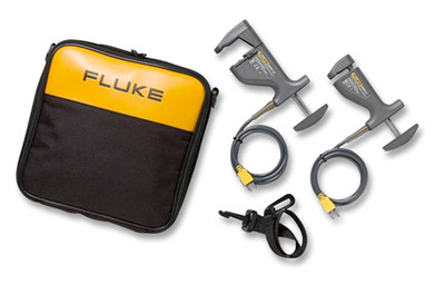 Fluke 80PK-18 Type K Pipe Clamp Thermocouple Probe Kit