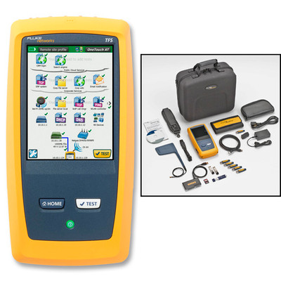 Fluke Networks 1T-3000 OneTouch AT Test Copper/Fiber LAN/WiFi/IL