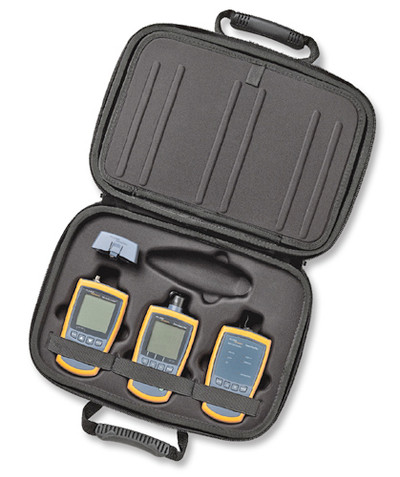 Fluke Networks MS2-FTK Copper & Fiber Basic Technicians Kit