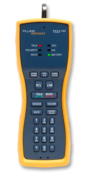 Fluke Networks TS23-P-01 Test Set w/Piercing Pin Cord Set