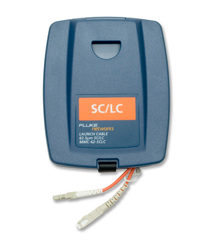 Fluke Networks MMC-62-SCLC Multimode SC/LC Launch Cable, 62.5um