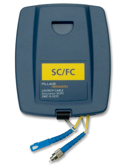 Fluke Networks SMC-9-SCFC Single Mode SC/FC Launch Cable, 9um
