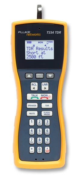 Fluke Networks TS54-A-09-TDR Test Set w/TDR & ABN/PP Cord Set