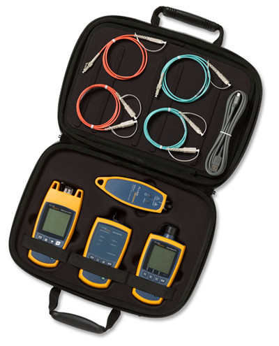 Fluke Networks FTS1000 Fiber QuickMap Troubleshooter Kit