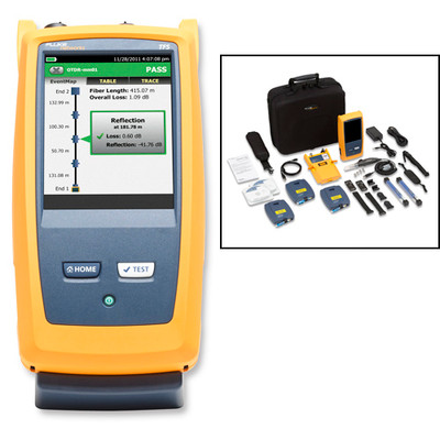 Fluke Networks OFP-100-SI OptiFiber Pro Single Mode OTDR Insp Kt
