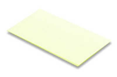 Miller PFAO-3 3 Micron AL/Oxide Polishing Film - Yellow, 10 Sheets