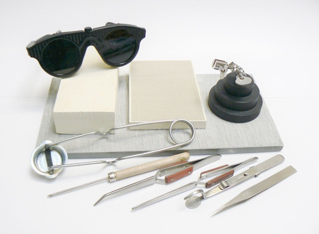 Jewelry Soldering Kit Smith Little Torch Set Tools Materials Gold Silver Repairs