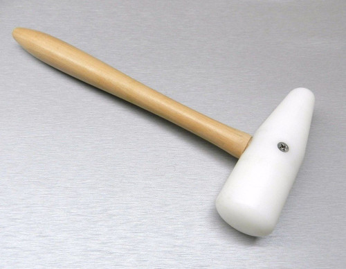 """NYLON HAMMER 5"""" PLASTIC MALLET DOME SHAPE FORMING DAPPING TOOL"""