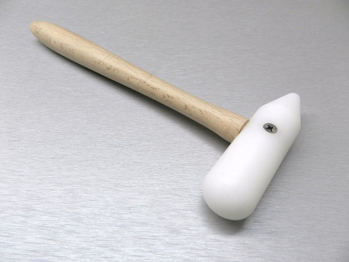 NYLON HAMMER PLASTIC MALLET ROUND & CONE HEAD METALSMITH & BEAD