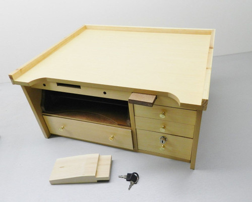 JEWELERS BENCH WORK TABLE TOP JEWELRY REPAIR WATCH HOBBY & CRAFT