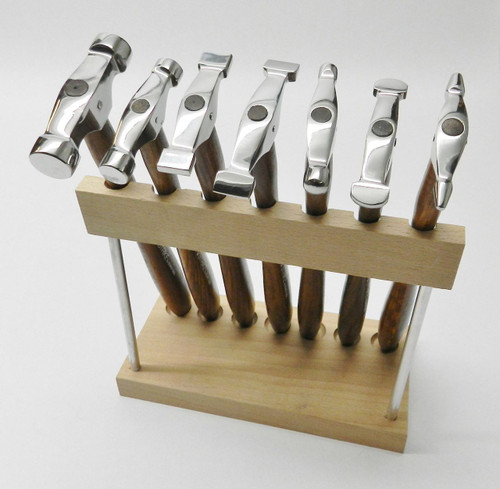 7 MINI TRUSTRIKE HAMMERS WITH STAND DESIGNING JEWELRY METALSMITH