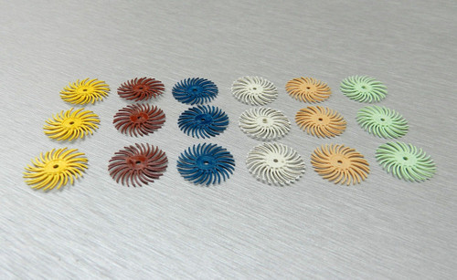3M RADIAL BRISTLE DISC BRUSH ASSORTMENT 18 Pc. SET