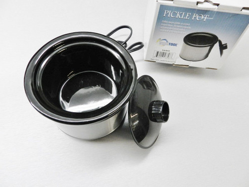 PICKLE POT 16oz FOR PICKLING COMPOUND SOLUTION JEWELRY SOLDERING REMOVE SCALE