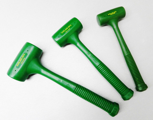 Dead Blow Hammers Garland Standard Head Set Of 3 Polyurethane Mallet