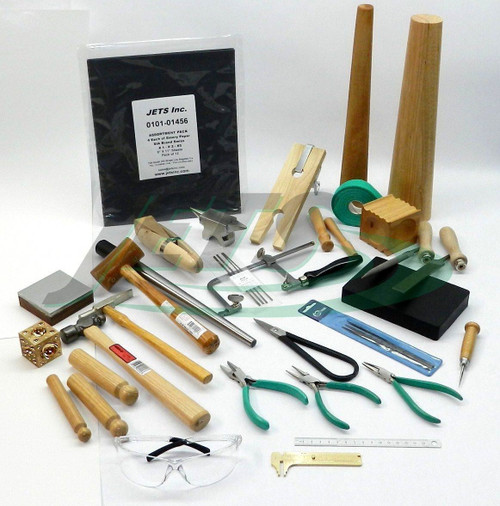 Metalsmith Tools Kit Beginners -Apprentice Metalsmithing Jewelry Making Tool Set