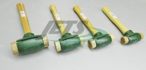 Rawhide Mallet Garland Split Head Hammers Set of 4 Sizes Mallets for Shop Work