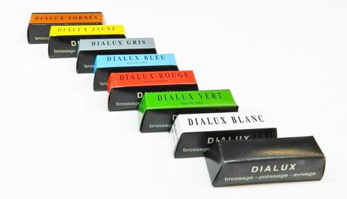 Dialux Polishing Compound 8 Bars Set Every Type of Jewelers Rouge Polish Tripoli