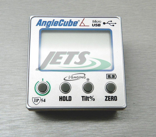 Gen 3 iGaging Angle Cube IP54 Digital Level Inclinomer w/ Backlit Data Output **