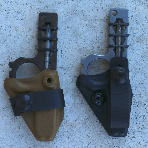 Wise Guy Carriers come in Coyote or Black