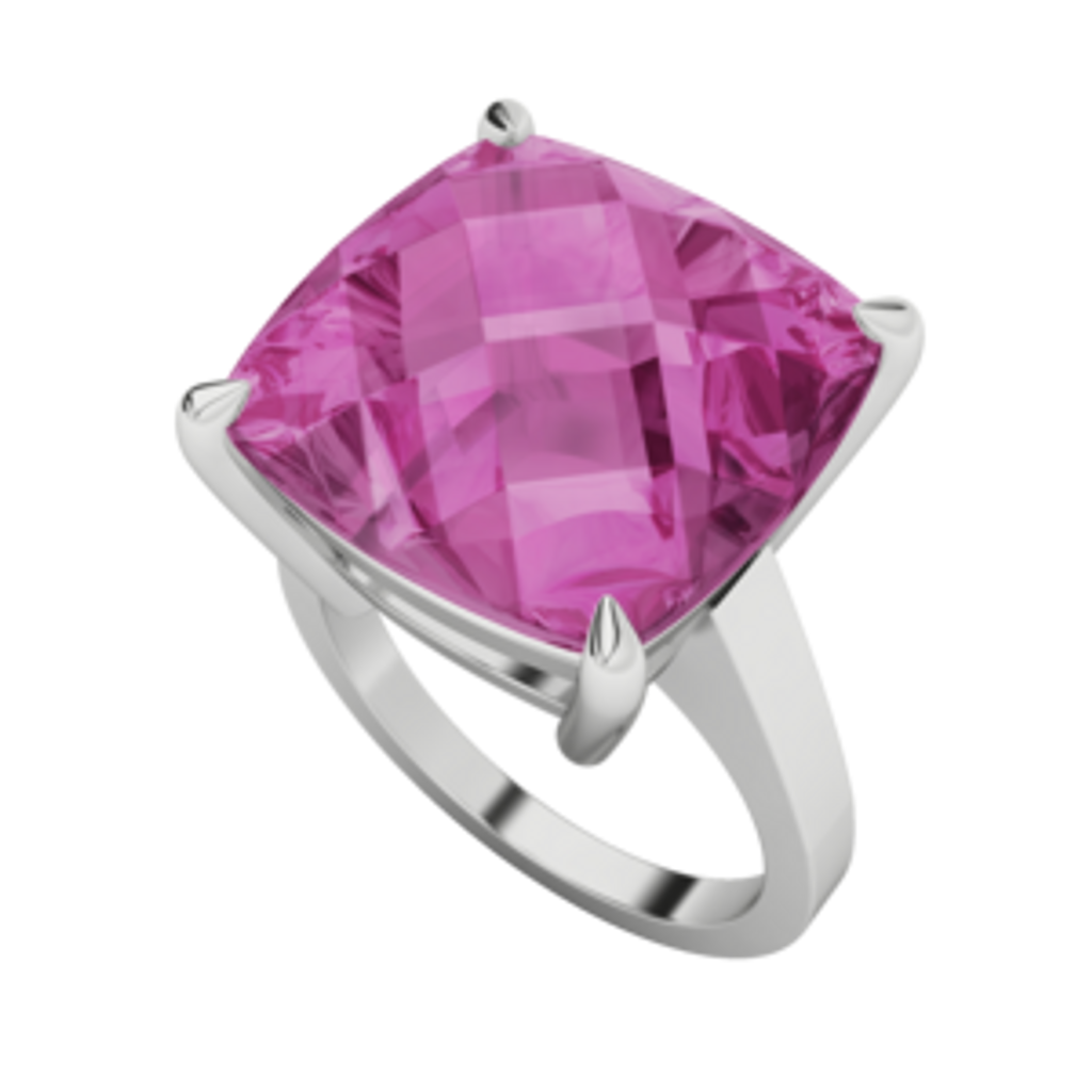 stylerocks-pink-sapphire-14mm-cushion-checkerboard-9ct-white-gold-ring-perspective