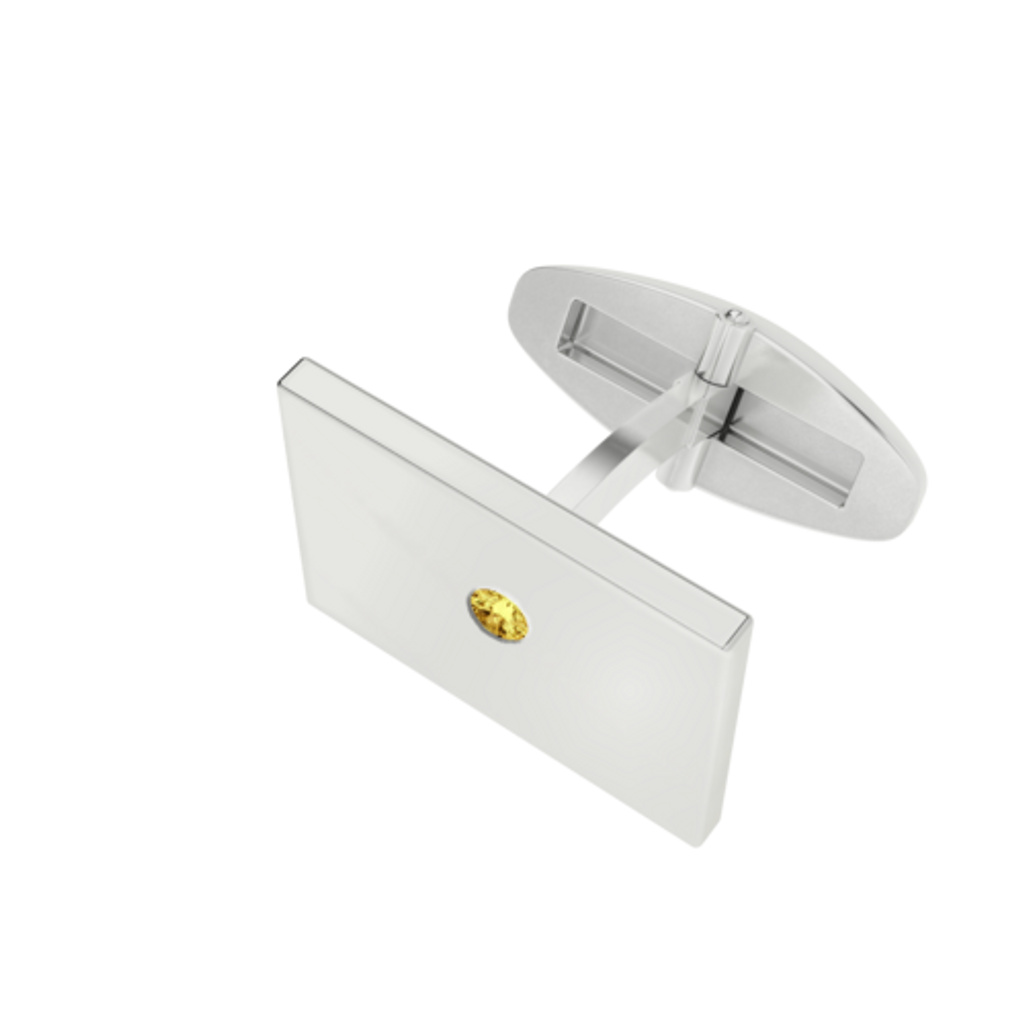 stylerocks-sterling-silver-citrine-rectangular-cufflinks