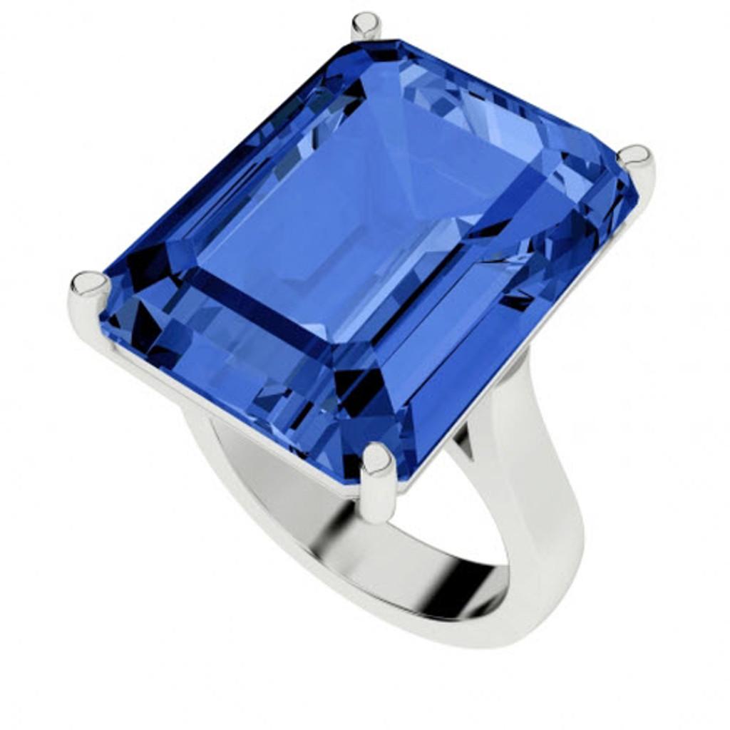 stylerocks-emerald-cut-blue-sapphire-sterling-silver-cocktail-ring