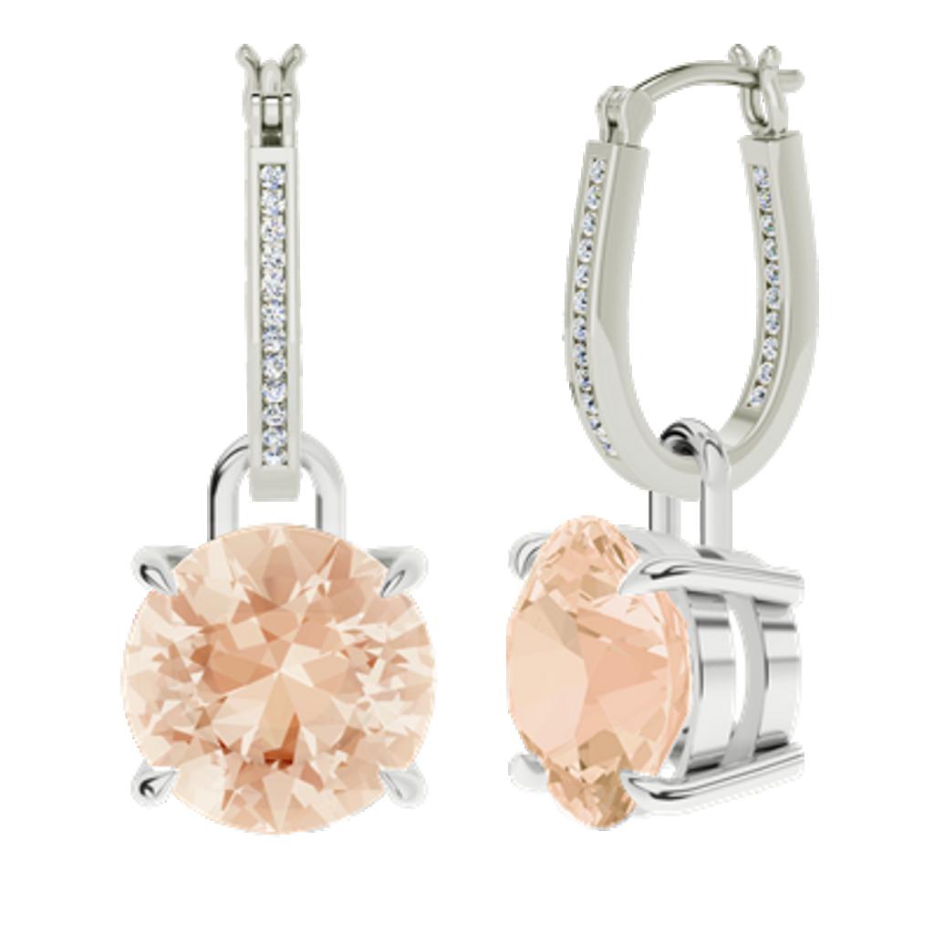 white-gold-diamond-hoops-morganite-drop-earrings