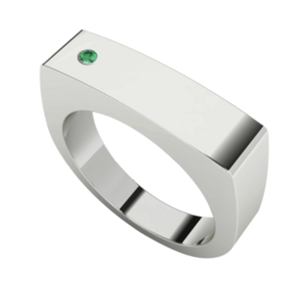 mens-rectangular-signet-ring-silver-emerald