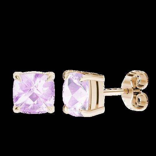 stylerocks-pink-amethyst-9ct-rose-gold-checkerboard-stud-earrings