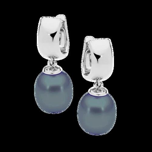 stylerocks-black-pearl-earrings-9ct-white-gold