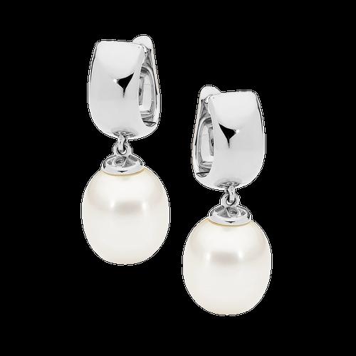 stylerocks-white-pearl-earrings-9ct-white-gold